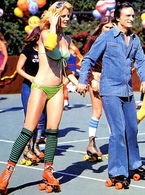 celebrity roller skating