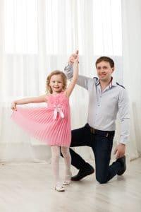 father daughter dancing