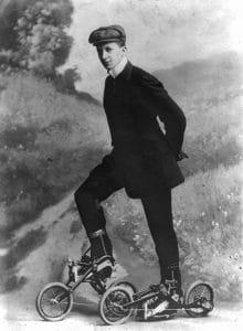 Roller skates from 1910