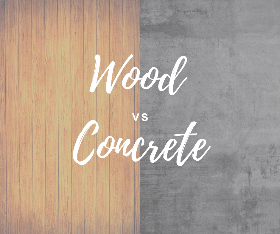 Wood skating rink flooring vs concrete skating rink flooring